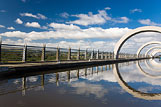 Falkirk Wheel + Union Canal, Skotsko