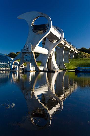 falkirk wheel skotsko scotland 18 Falkirk Wheel + Union Canal, Skotsko