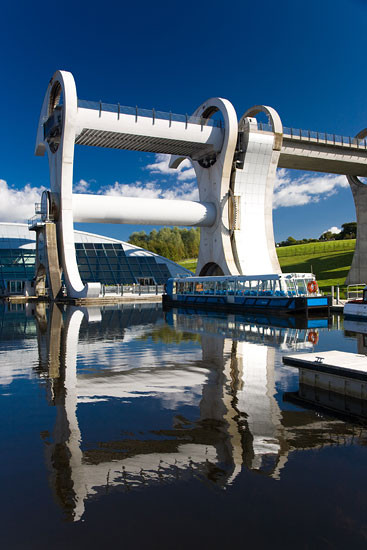 falkirk wheel skotsko scotland 19 Falkirk Wheel + Union Canal, Skotsko