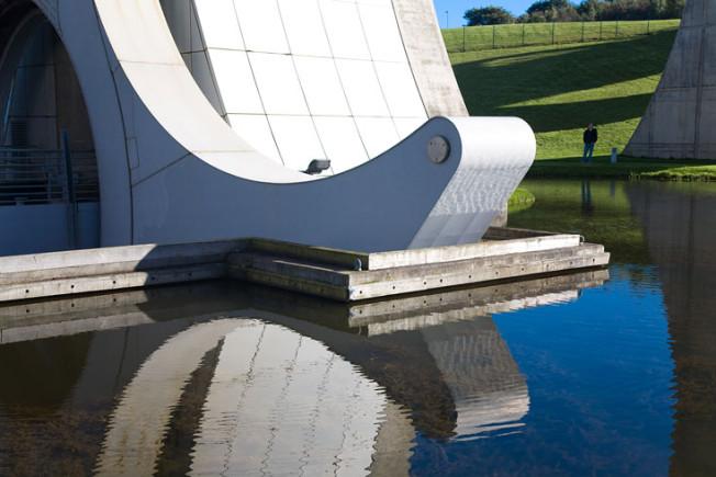 falkirk wheel skotsko scotland 29 Falkirk Wheel + Union Canal, Skotsko