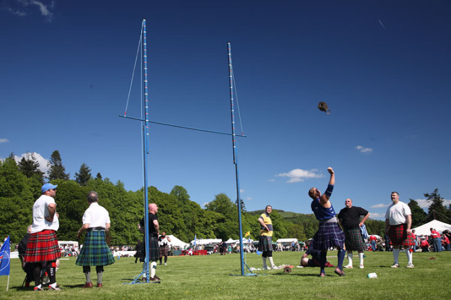 highland games skotsko scotland 50 Highland Games, Skotsko