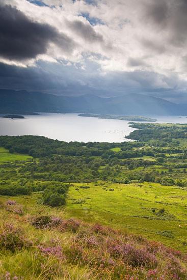 loch lomond skotsko scotland 14 Loch Lomond a The Trossachs NP,  Skotsko