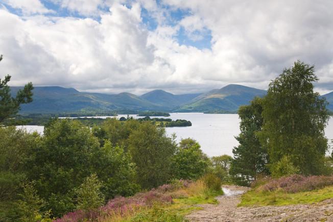 loch lomond skotsko scotland 4 Loch Lomond a The Trossachs NP,  Skotsko