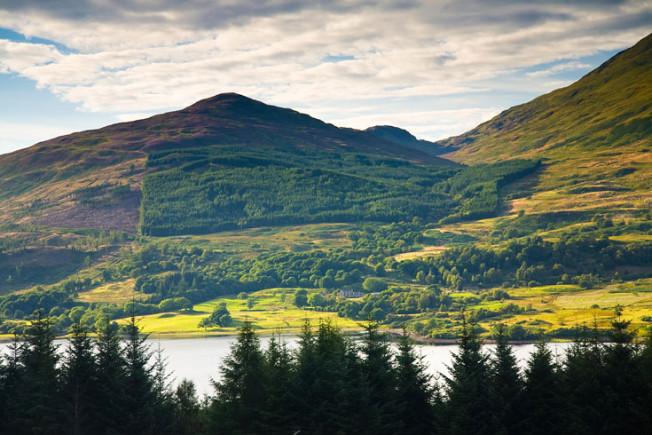 loch lomond skotsko scotland 46 Loch Lomond a The Trossachs NP,  Skotsko