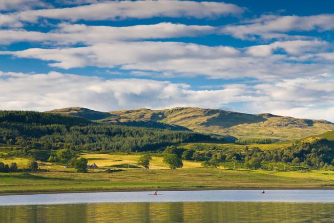 loch lomond skotsko scotland 51 Loch Lomond a The Trossachs NP,  Skotsko