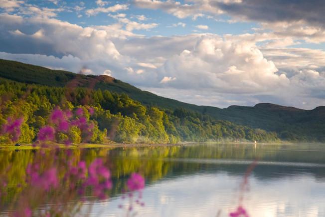 loch lomond skotsko scotland 53 Loch Lomond a The Trossachs NP,  Skotsko