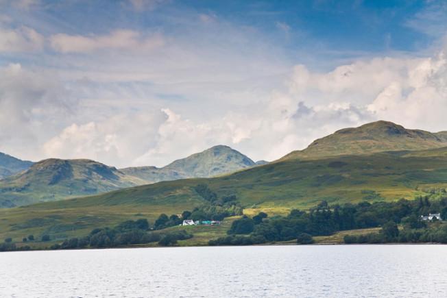 loch lomond skotsko scotland 64 Loch Lomond a The Trossachs NP,  Skotsko