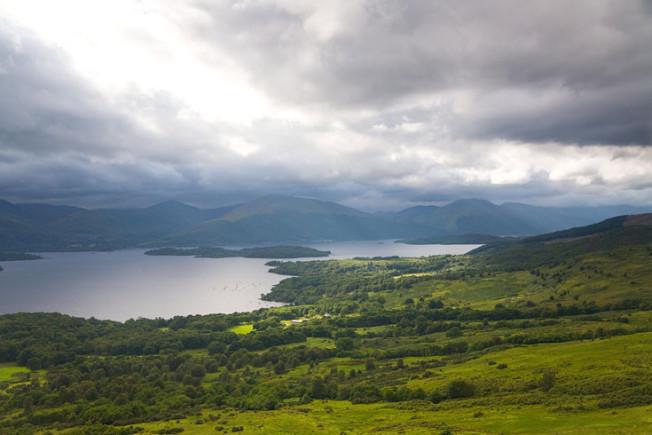 loch lomond skotsko scotland 7 Loch Lomond a The Trossachs NP,  Skotsko