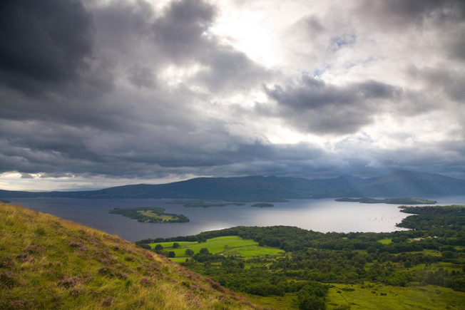 loch lomond skotsko scotland 8 Loch Lomond a The Trossachs NP,  Skotsko