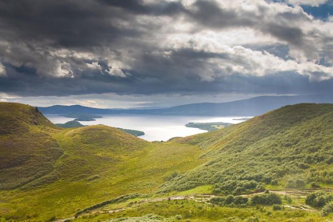 loch lomond skotsko scotland 9 Loch Lomond a The Trossachs NP,  Skotsko