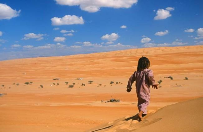oman poust desert 4 Omán   poušť