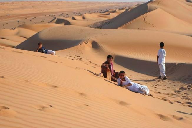 oman poust desert 8 Omán   poušť