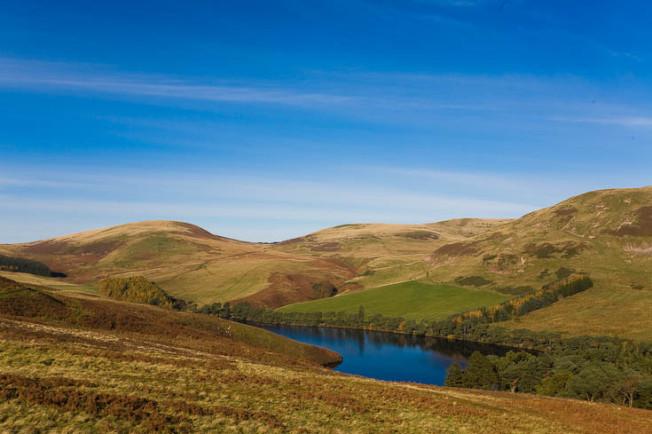 pentland hills skotsko scotland 17 Pentland hills, Skotsko