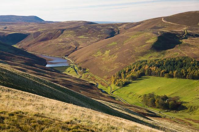 pentland hills skotsko scotland 19 Pentland hills, Skotsko