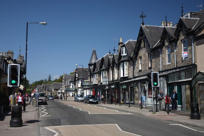 pitlochry skotsko scotland 1 Pitlochry a Blair Atholl, Skotsko