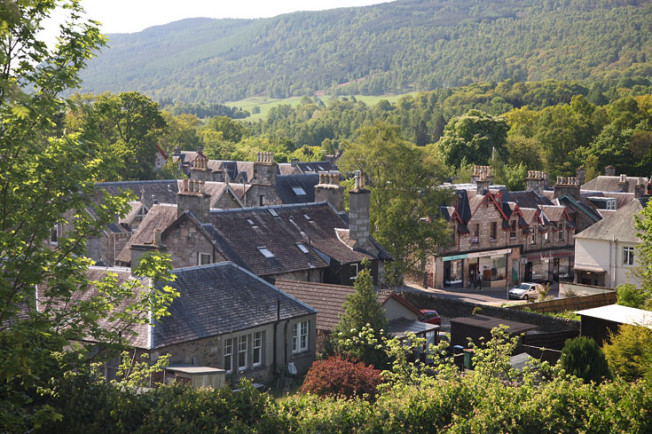 pitlochry skotsko scotland 21 Pitlochry a Blair Atholl, Skotsko