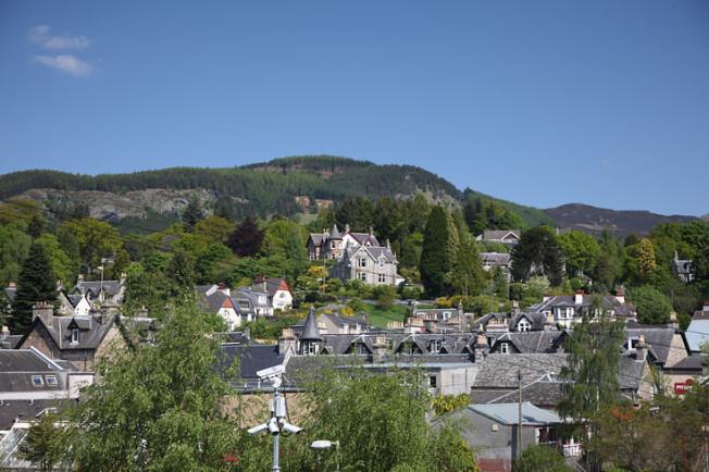 pitlochry skotsko scotland 22 Pitlochry a Blair Atholl, Skotsko