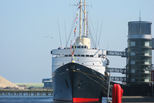 1 Royal Yacht Britannia, Edinburk