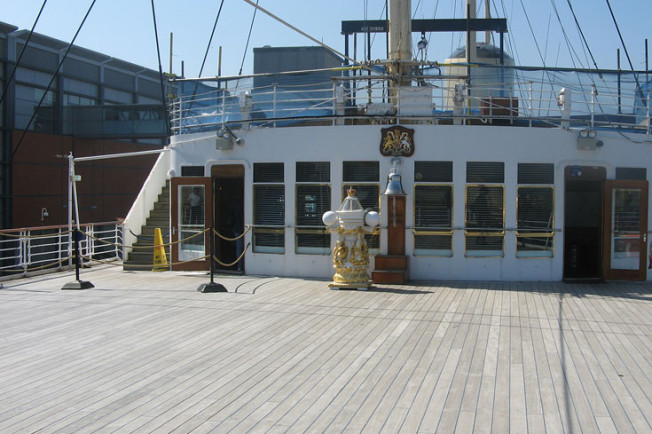 10 Royal Yacht Britannia, Edinburk