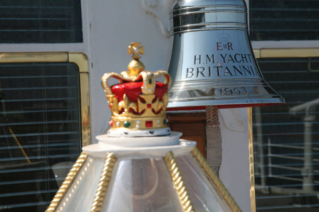11 Royal Yacht Britannia, Edinburk