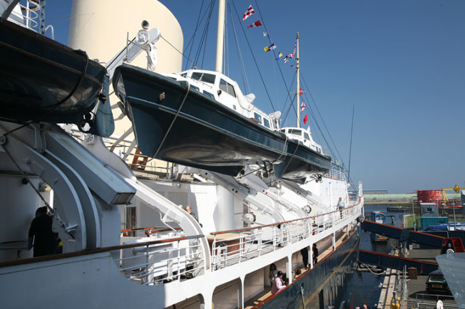 2 Royal Yacht Britannia, Edinburk