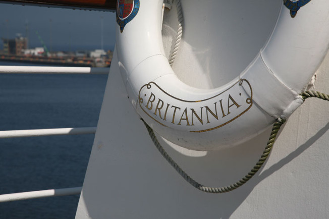 7 Royal Yacht Britannia, Edinburk