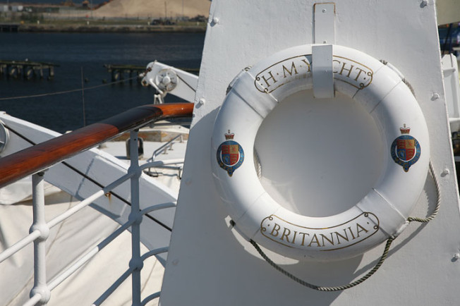 8 Royal Yacht Britannia, Edinburk